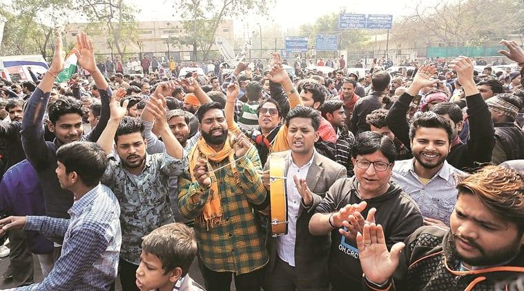 Delhi shaheen bagh protest, Shaheen Bagh protest Delhi, Delhi CAA protest Shaheen Bagh, Delhi city news, indian express news