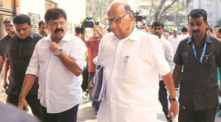 ncp chief sharad pawar, uddhav thackeray, sharad pawar meets uddhav thackeray, cyclone nisarga, cyclone nisarga in maharashtra, cyclone nisarga relief, indian express news