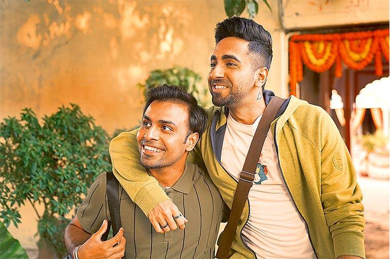 Hitesh Kewalya, Shubh Mangal Zyada Saavdhan, Shubh Mangal Saavdhan, Ayushmann Khurrana, Jitendra Kumar, Hindi cinema, Sandeep Nair, Colour Yellow Pictures, Miley Jab Hum Tum Iss Pyaar Ko Kya Naam Doon? Humse Hai Life, Amit V Masurkar, Gay Films, Homosexuality, Same-sex relationships, National Institute of Design