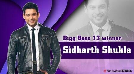 Sidharth Shukla lifts Bigg Boss 13 trophy
