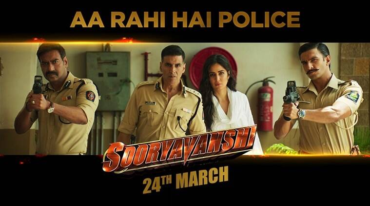 Akshay Kumar starrer Sooryavanshi to hit screens on March 24
