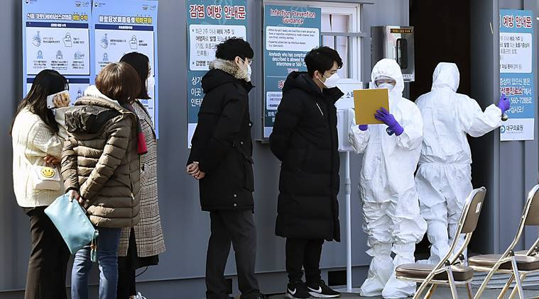 South Korea coronavirus, coronavirus in South Korea, coronavirus latest news updates, indian express