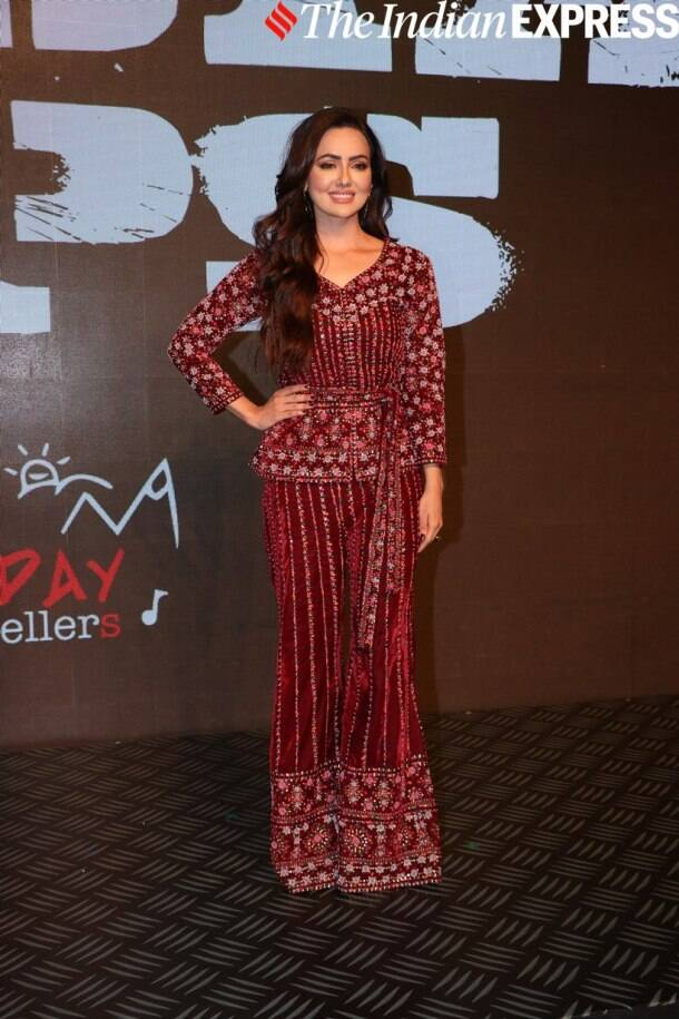 Sana Khan at Special Ops launch