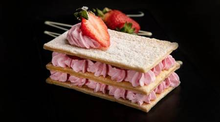 Strawberry Mille Feuille