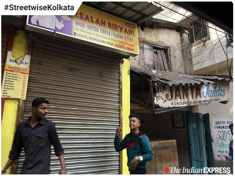Khidderpor Bhukailash road streetwise kolkata