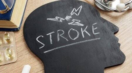 stroke, stroke risk, types of strokes, indian express news