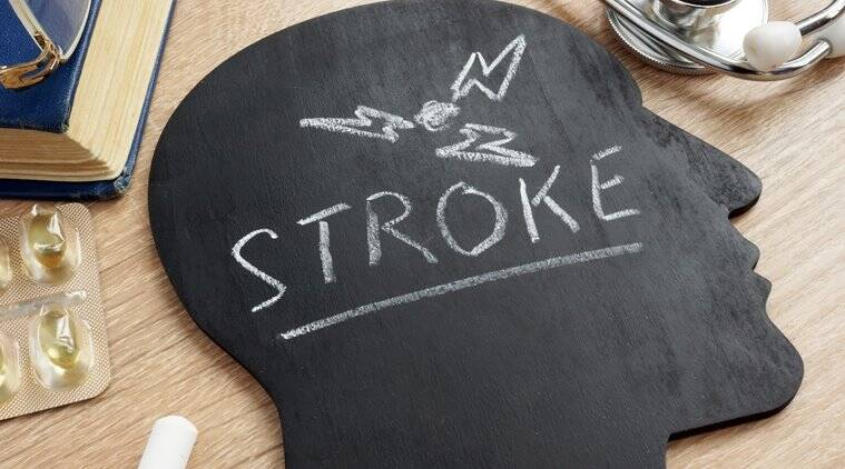 stroke, stroke symptoms, stroke causes, stroke risk, indian express news