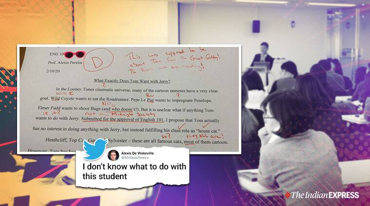 English teacher tweets 'bizarre' essay by student, netizens call it 'unethical'
