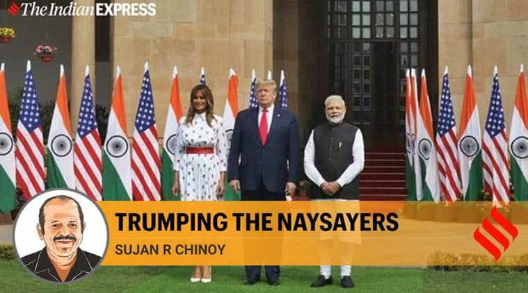 Prime minister Narendra Modi, US President Donald Trump, Trump India visit, US India relationship, bilateral relationship, indian express columns, indian express news