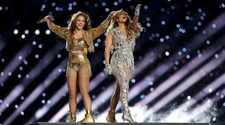 Jennifer Lopez, Shakira at Super Bowl halftime show