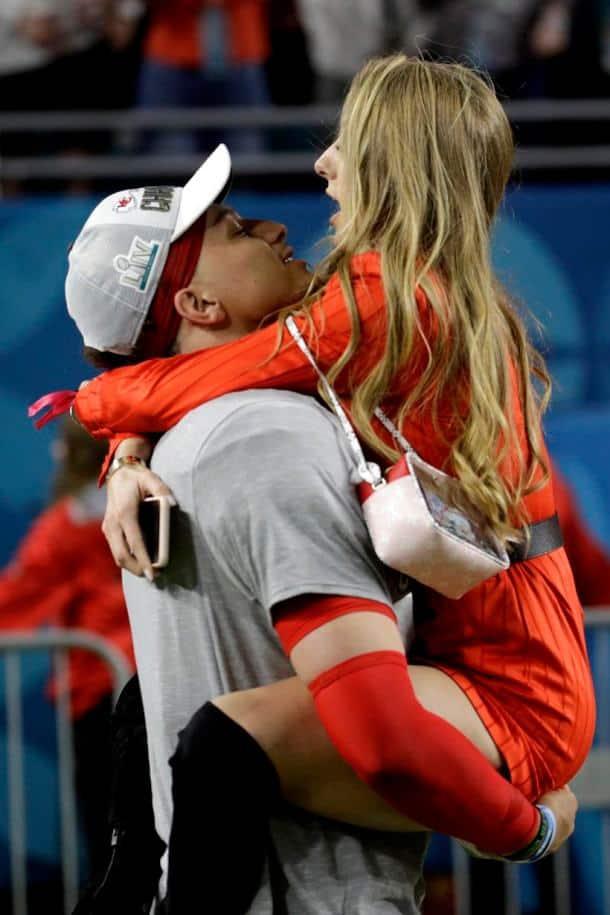 Chiefs QB Patrick Mahomes and Brittany Matthews Get Engaged