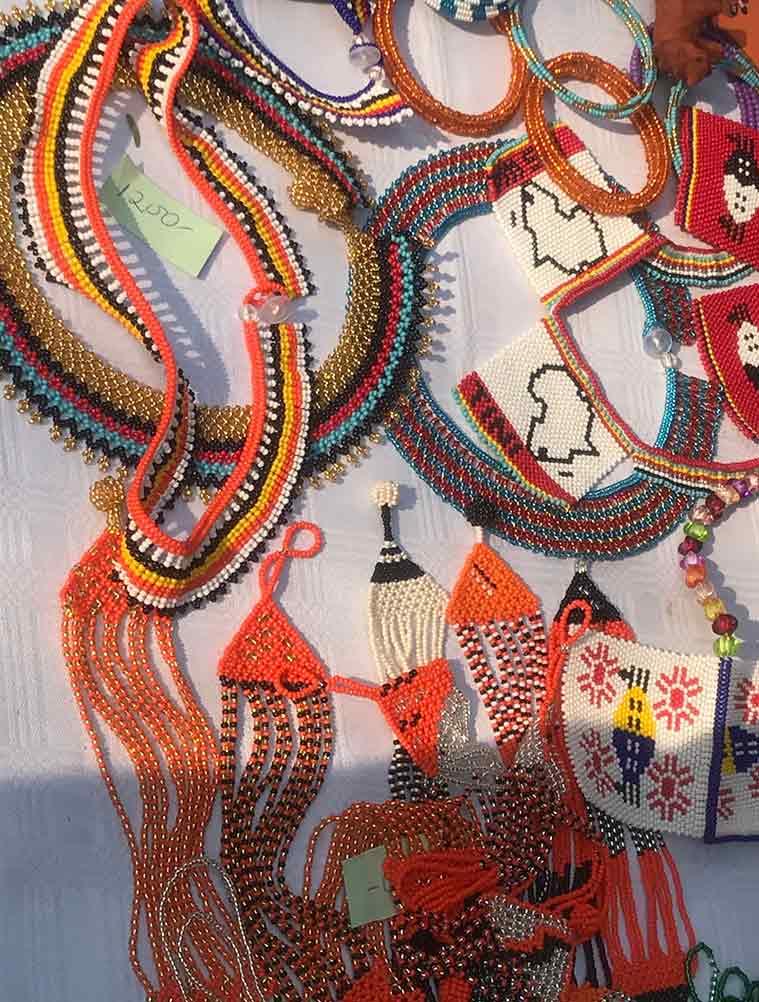 bead jewellery, bead jewellery swaziland, bead jewellery surajkund mela, art and craft surajkund mela