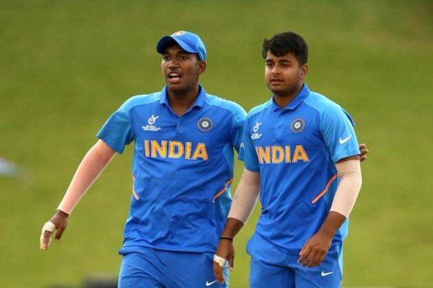 Yashasvi Jaiswal, Yashasvi jaiswal 105, Yashasvi jaiswal 105 vs Pakistan, India U19 vs Pakistan U19, India U19 vs Pakistan U19 semi final, U19 World Cup 2020, Sushant Mishra