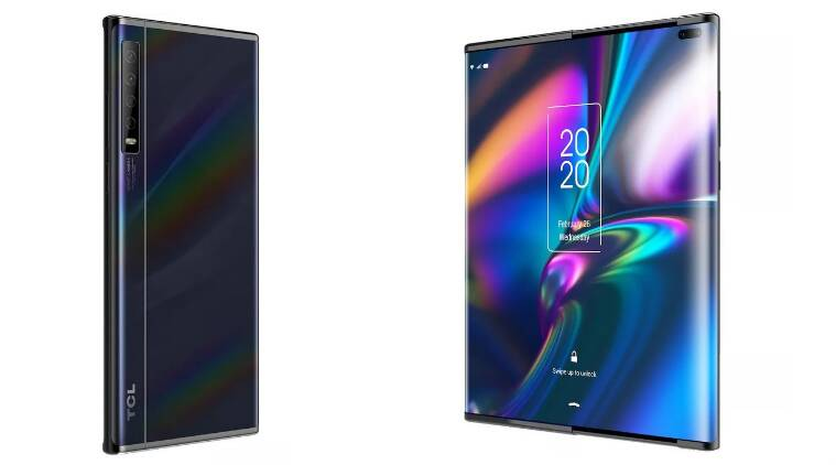 TCL Designs Smartphone With Sliding Panels; Challenge To Foldable Phones?