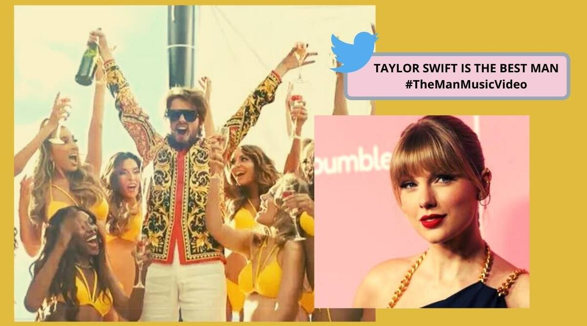 She S The Man Netizens Impressed As Taylor Swift Plays A Man In New Single The Man Trending News The Indian Express