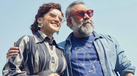 taapsee pannu with thappad director anubhav sinha
