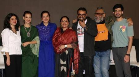 Dia Mirza, Anurag Kashyap and others attend Thappad special screening