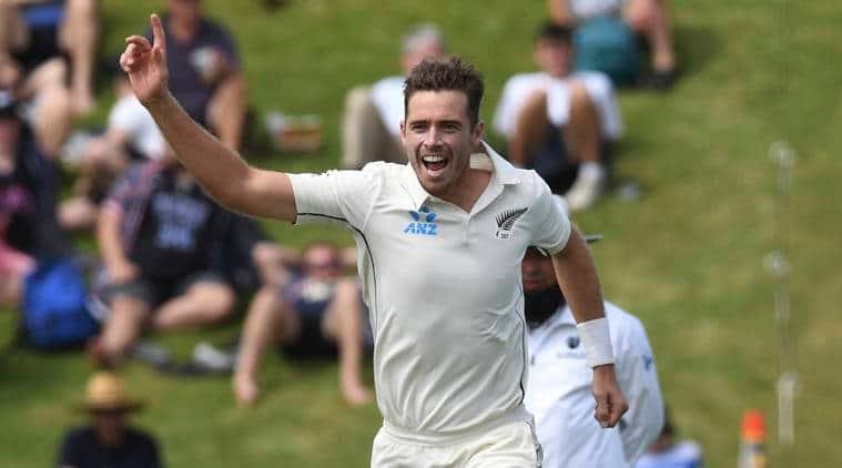 New Zealand's Tim Southee (AP Photo/Ross Setford)