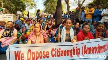 Citizenship Amendment Act, Tripura, anti-CAA protests, Nagorik Suraksha Mancha, tripura news, indian express