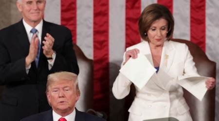 Donald Trump, State of the Union address, Nancy Pelosi, US, President, World News