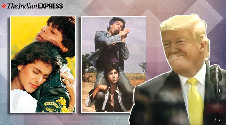 All over the planet people take joy in DDLJ and Sholay: US President Donald Trump