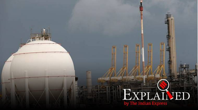 UAE natural gas field, Jebel Ali, UAE qatar ties, Abu Dhabi National Oil Company, largest oil fields in Middle East, indian express, indian express explained