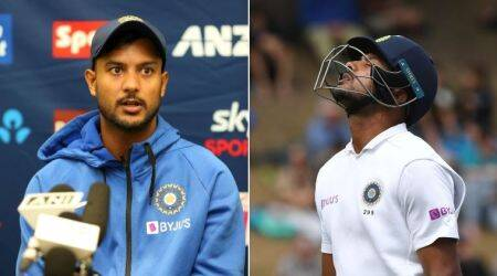 Mayank Agarwal, Mayank Agarwal batting, Mayank Agarwal vs New Zealand, India Day1, IndvNZ Day 1