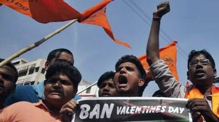 Hyderabad: Five Bajrang Dal activists arrested for vandalism on Valentine's Day
