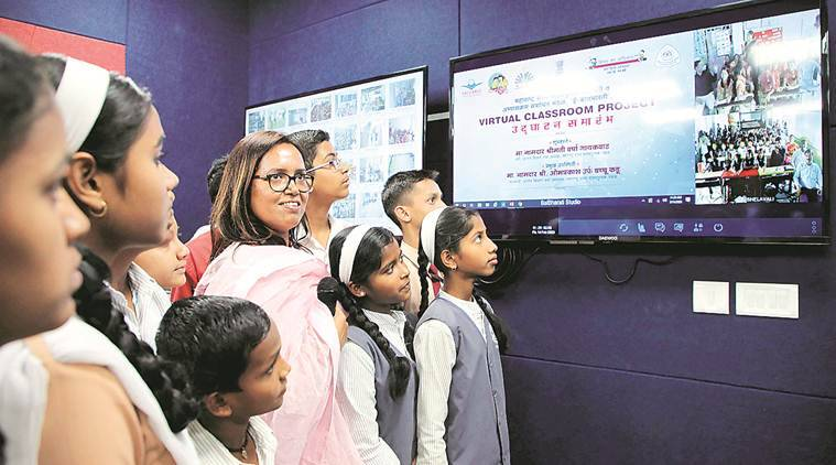 Varsha Gaikwad, Maharashtra Education, Marathi-medium schools, Maha Vikas Aghadi government Minister, pune news, maharashtra news, indian express news