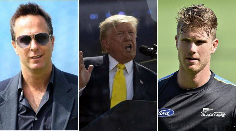 Sachin Tendulkar Trump, Sue chin, Michael Vaughan trolls trump, Jimmy Neesham trolls Trump, Trump trolled for Sachin
