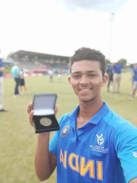 Yashasvi Jaiswal, Yashasvi jaiswal 105, Yashasvi jaiswal 105 vs Pakistan, India U19 vs Pakistan U19, India U19 vs Pakistan U19 semi final, U19 World Cup 2020