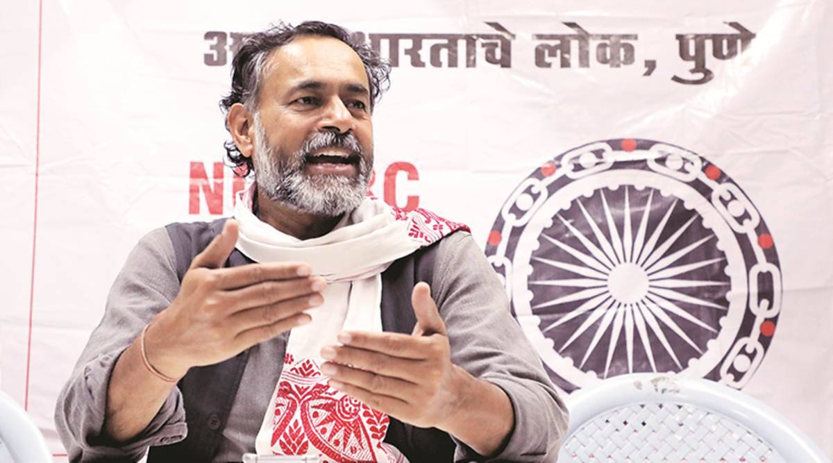 Will join farmers' protest outside Dushyant Chautala's house: Yogendra Yadav