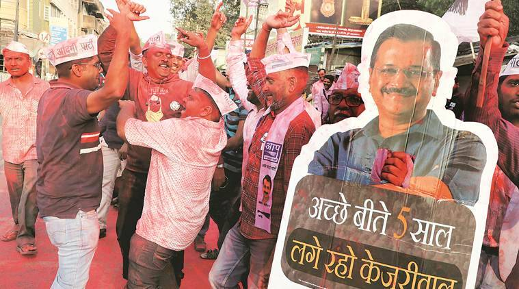 Recharged after Delhi win, AAP aims to fight state local body polls, focus on urban areas