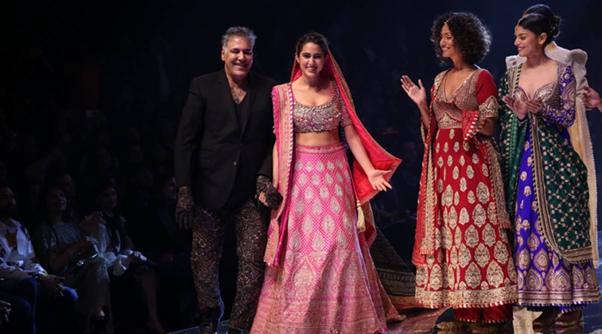 Sara Is Our Baby Abu Jani Sandeep Khosla On Their Showstopper And The Secret To Their Relevance Lifestyle News The Indian Express