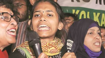 Aishe Ghosh, Aishe Ghosh at jadavpur university, Aishe Ghosh kolkata, jnu protests, kolkata city news