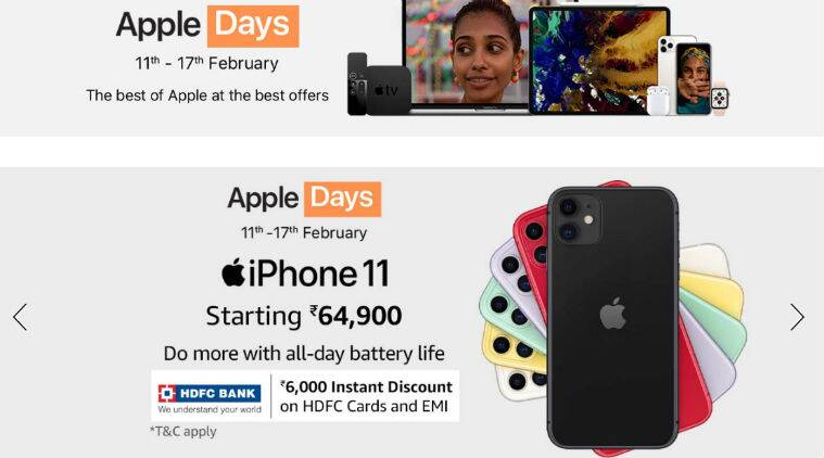 Apple, Apple iPhone 11 discount, Amazon Apple Days, Amazon Apple discount, Amazon Apple Watch 4 discount, Apple Watch 4 discount, Amazon Apple sale