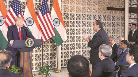Donald trump, trump India, US India trade, US India trade negotiations, Free Trade Agreement, US india FTA talks, Piyush Goyal, India-US Trade, India news, indian express