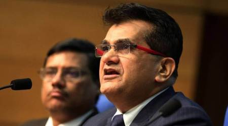 Data Protection Agency, Online Data Protection, cyber laws India, Data Protection Bill, NITI Aayog CEO Amitabh Kant, Amitabh Kant, Aruna Sundararajan, indian express