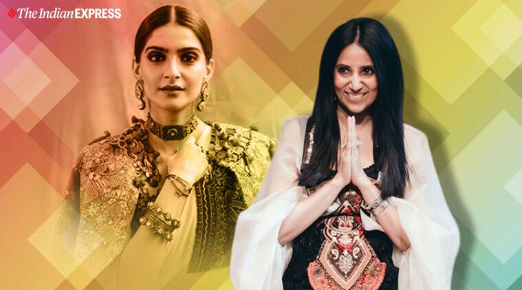 Designer Anamika Khanna Sonam Kapoor Is The Most Stylish Bollywood Celebrity Lifestyle News The Indian Express