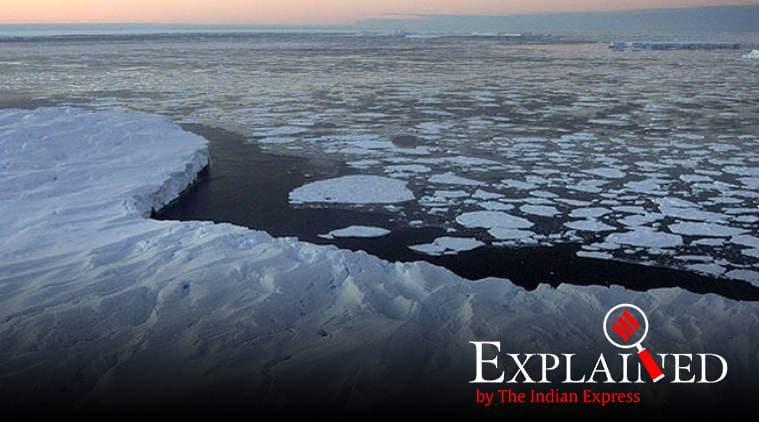 Antarctic glaciers, antarctic glaciers melting, antarctic glaciers global warming, global warming, Express Explained, Indian Express