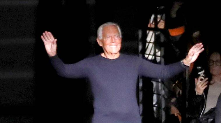 Designer Giorgio Armani, Designer Giorgio Armani raping women, Designer Giorgio Armani rape milan fashion week, milan fashion week, indian express news