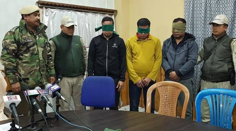 Manipur news, Kangleipak Communist Party (KCP) Agamba faction, Kangleipak Communist Party, Bangalore news, crime in Manipur, indian express