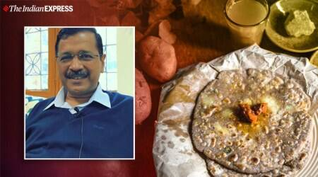 Arvind Kejriwal, Arvind Kejriwal favourite food, Arvind Kejriwal Chinese joint Cp, Arvind Kejriwal alo paratha, Arvind Kejriwal interview food, indian express news