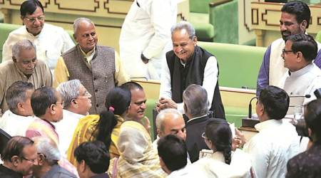 Rajasthan budget, Rajasthan news, Rajasthan Chief Minister Ashok Gehlot, India news, indian express