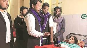 'Denied' visit to Mangta village, Chandrashekhar Azad meets injured Dalits in Kanpur hospital