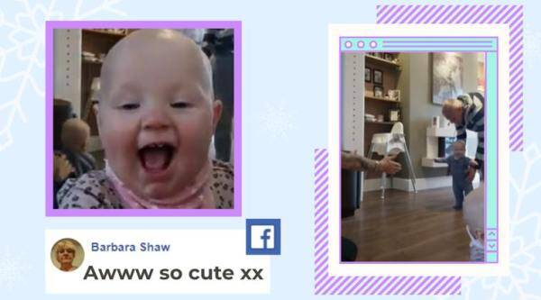 baby photobombs, toddler interrupts sibling first step video, twin sister photobombs baby first step video, cute baby videos, indian express,
