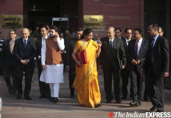 Union Budget 2020: Sitharaman follows tradition, leaves Finance Ministry with 'bahi kaatha'