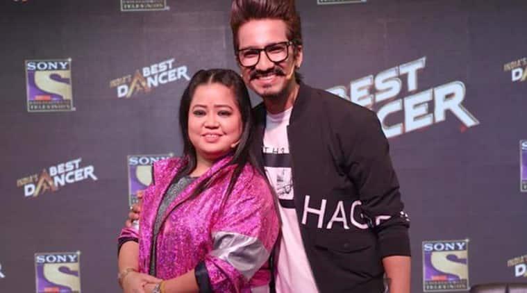 bharti haarsh at india's best dancer launch
