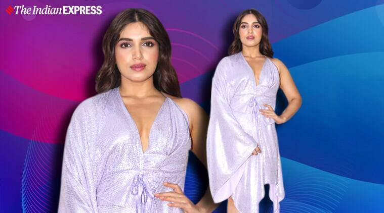 bollywood lilac colour, lilac bhumi pednekar, lilac deepika padukone, lilac priyanka chopra, indian express news