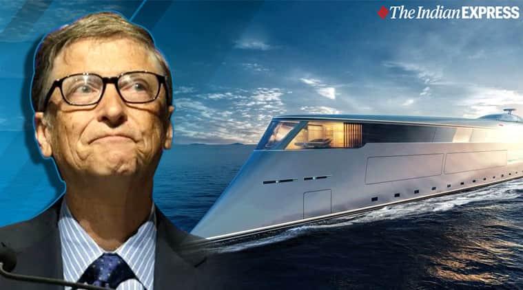 Bill Gates, Bill Gates superyacht, Bill Gates hydrogen-powered yacht, Microsoft, Trending, Indian Express news